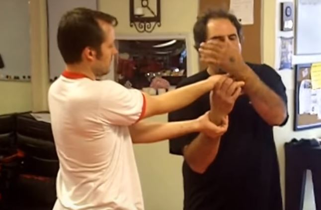 Pressure Point Wrist take down